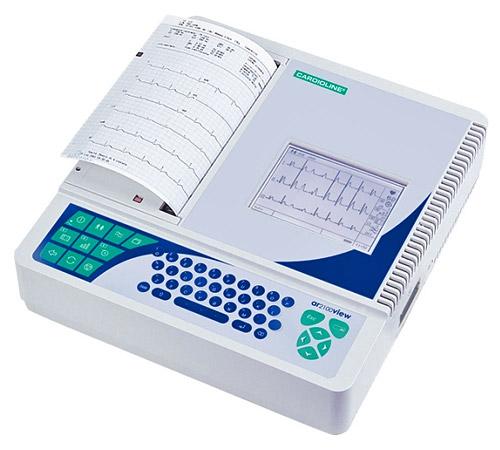 12-канальный электрокардиограф Cardioline ar 2100view
