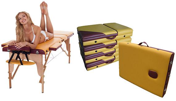 Складной массажный стол US MEDICA Sakura массажное оборудование